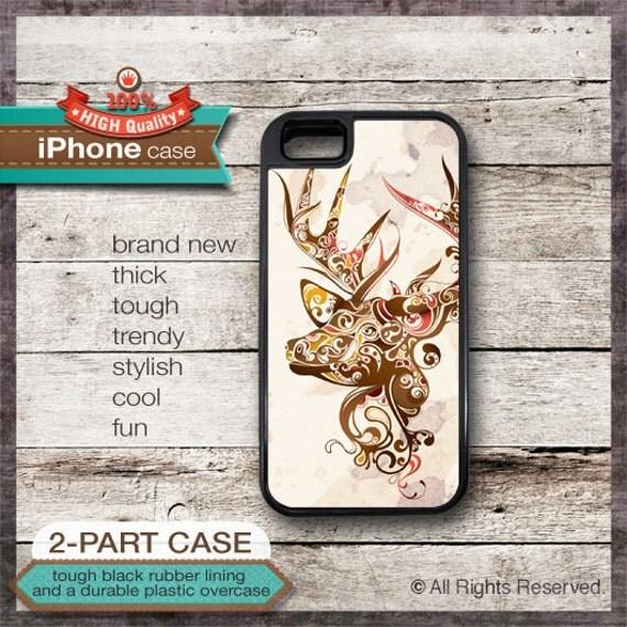 Deer Art 12 - iPhone 6, 6+, 5 5S, 5C, 4 4S, Samsung Galaxy S3, S4