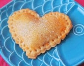 Heart Shaped Hand Pies (12) Edible Favor, Valentines Day, Gift Wedding, Birthday, Bridal Shower, Baby Shower Edible Gift