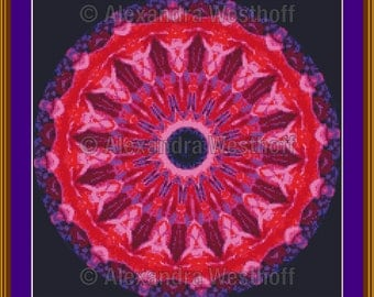 "cross stitch chart ""Kaleidoskop 1c"""
