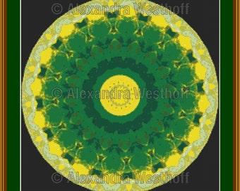 """cross stitch chart """"Kaleidoskop 2d"""""""