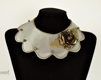 Collar necklace fabric