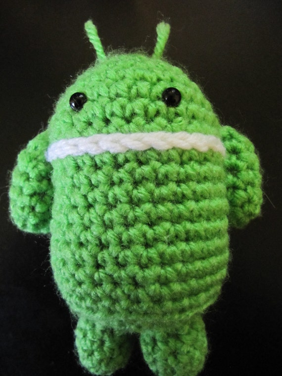 Amigurumi Robot Crochet Patterns : Android Robot Amigurumi Pattern