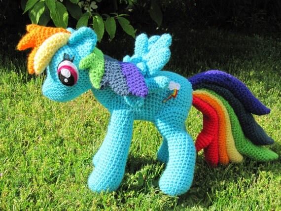 Patron del arco iris My Little Pony by NerdyKnitterDesigns ...