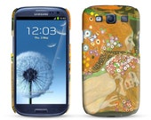 Samsung Galaxy S3 Case Water Snakes II, Gustav Klimt, 1907 Cell Phone Cover