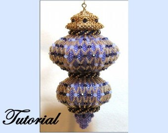 Crystal Delight Beaded Ornament