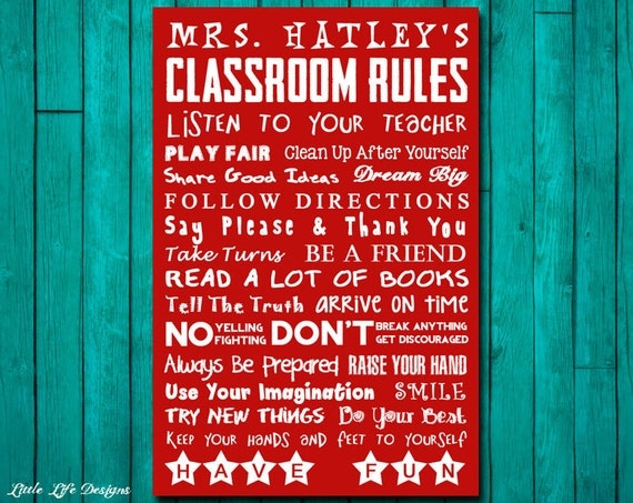 School Rules Signs | www.imgkid.com - The Image Kid Has It!