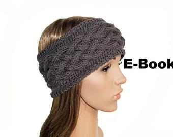 Manual E-book headband No.. 02 Aran knitting pattern