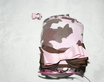 Pink Camo Harness