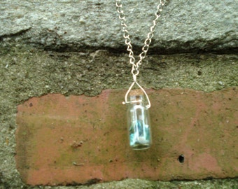 Abalone Vial Pendant Necklace