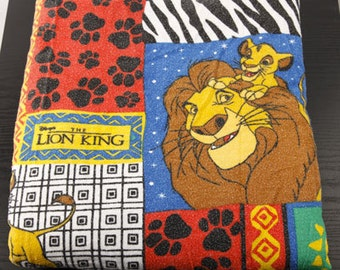Disney S Lion King Fitted And Flat Sheet Set Vintage