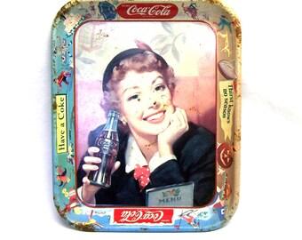 Genuine Coca Cola Soda Fountain Serving Tray