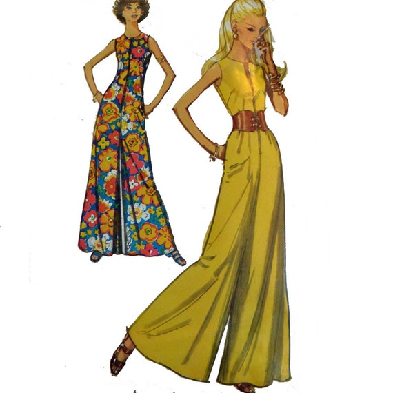 Beautiful Find This Pin And More On Vintage Sewing Patterns Community Board Hostess Dress Jumpsuit Pattern Graphic Print Floral Pants Wide Leg Vintage Fashion Style Color Illustration Off FLASH SALE McCall By EleanorMeriwether 60s 70s Shorts