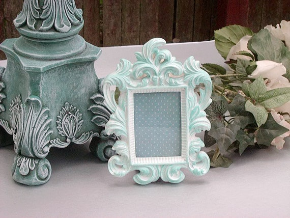 Ornate Picture Frame Wedding Table NUMBERS Wedding Favors