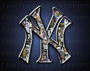 11x14 New York Yankees Baseball Art Print