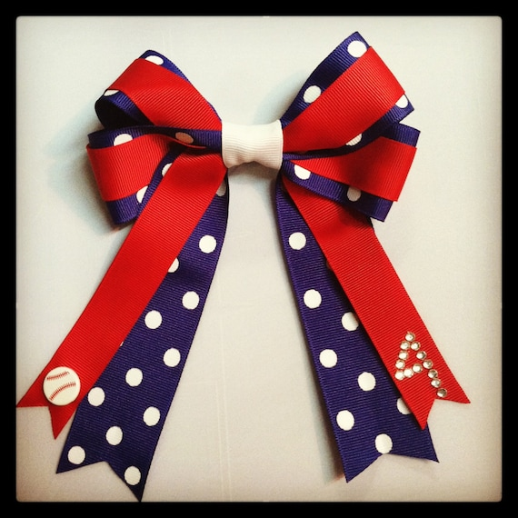 foto de Softball Team Hair Bows Personalized Softball Forum