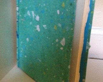 Turquiose Handmade Book