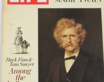 LIFE Magazine Dec 20, 1968 with Unpublished Manuscript by MARK TWAIN-Huck Finn & Tom Sawyer Among the Indians
