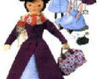 Doll & Nanny Costume Pattern 7432 - Photocopy