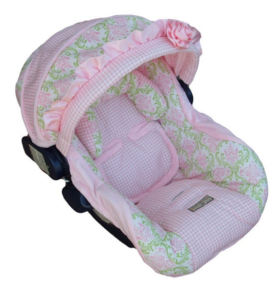 Nolliecovers Infant Car Seat Replacement Cover Silver Package