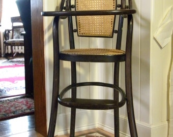 Antique Thonet style Highchair