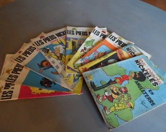 French Comics - Les Pieds Nickeles