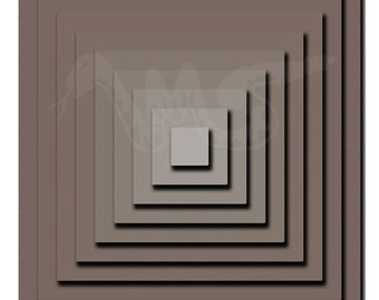 Grey Pyramid. Harmaa pyramidi. Digital drawing
