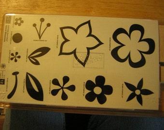 Stampin Up Stamp Set - Island Blossoms - NUM