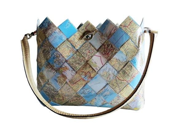 borse carta intrecciata