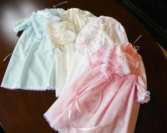 Hand Smocked Day Gown Set