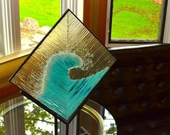 Wave of Glass - Glass Art