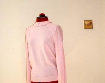 Vintage baby pink jumper size 12