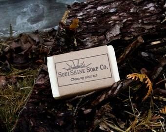 Lemongrass All Natural Handmade Soap Made in Maine