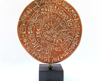 Ancient Greek Museum Reproduction Phaistos Disc