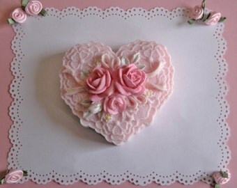 Sweet Heart - Shea Butter Soap - Decorative Soap - Gift Soap