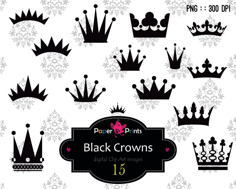 Princess crown silhouette clip art - photo#44
