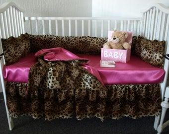 Leopard Baby Bedding Set