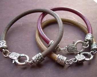 Leather  Bracelet, Mens Bracelet, Mens Jewelry, Mens Gift, Womens Bracelet, Womens Jewelry, Leather Bracelet