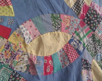 This is a perfect vintage quilt top.  1920s-40s era.