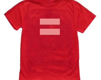Gay Equality Sign Pride T shirt