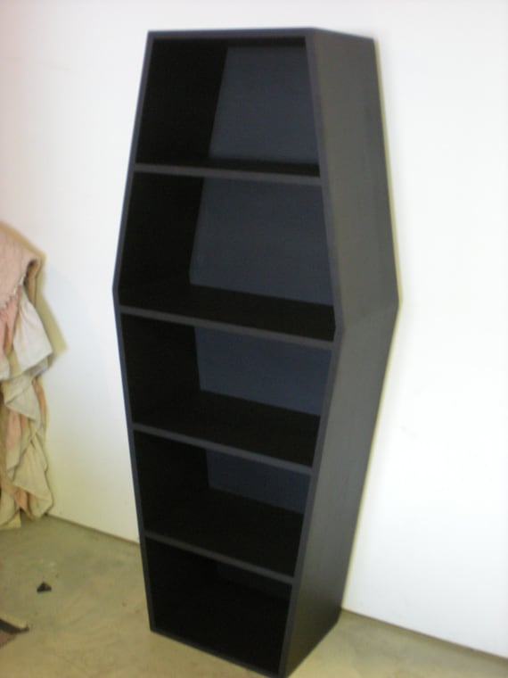 Book Shelf Coffin
