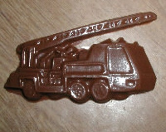 Fire Truck Chocolate Mold
