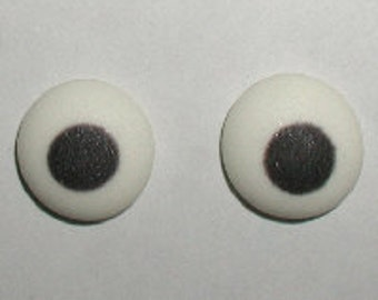 """Candy Eyes, 7/16"""" White 48 pack"""
