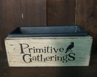 Primitive Planter Box