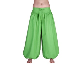 ExtraLang fair trade cotton balloon pants pants