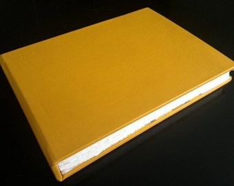 Bright Yellow Album/Journal with Map of Tokyo inside