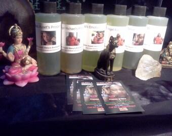 6-Pack-Queen Auset-Heru's Enchanted Oil Sampler
