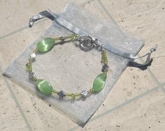 Peridot Spring Colors Bracelet