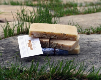 only the oatmeal & honey soap