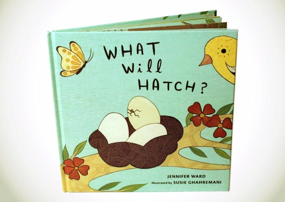 Montessori Baby Gift Educational Picture book - Children book WHAT WILL HATCH - autographed by Susie Ghahremani - educational book