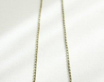 Red Arrow Necklace with Brass Beads // Geometric Minimal Statement Jewelry